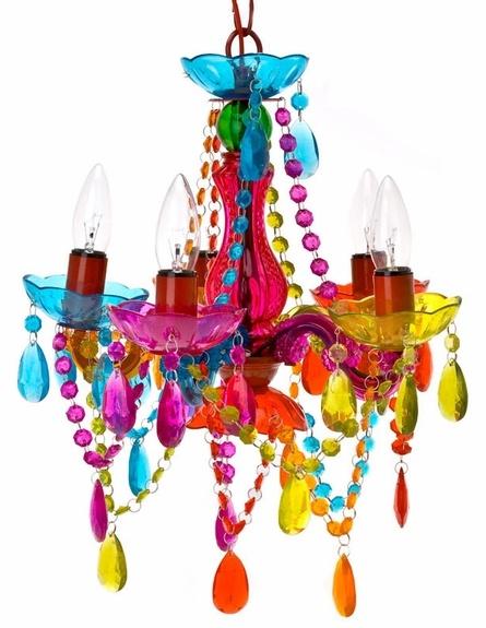 multi colored chandelier decor 8