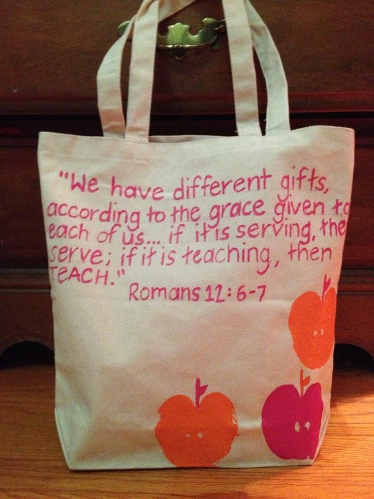 Bible Verse for Teacher Appreciation   just b.CAUSE