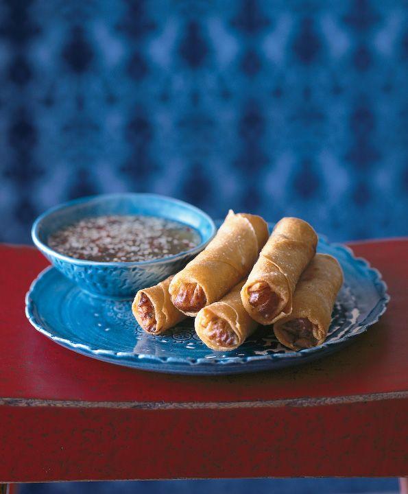 Vietnamese Spring Rolls Recipe (Cha Gio) (Red Lantern Crisp Parcels ...