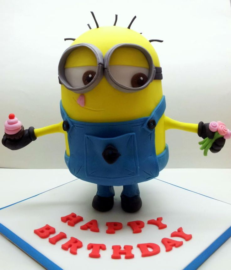 ... ) standing Minion birthday cake. ABSOLUTELY LOVED doing this cake :o