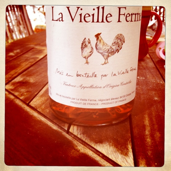 "Looks like the great time of La Vieille Ferme Rosé on a sunny ""terrasse"" is coming back!!"