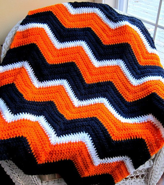 Crochet Pattern For Sports Blanket : War Eagle! Crafts Pinterest