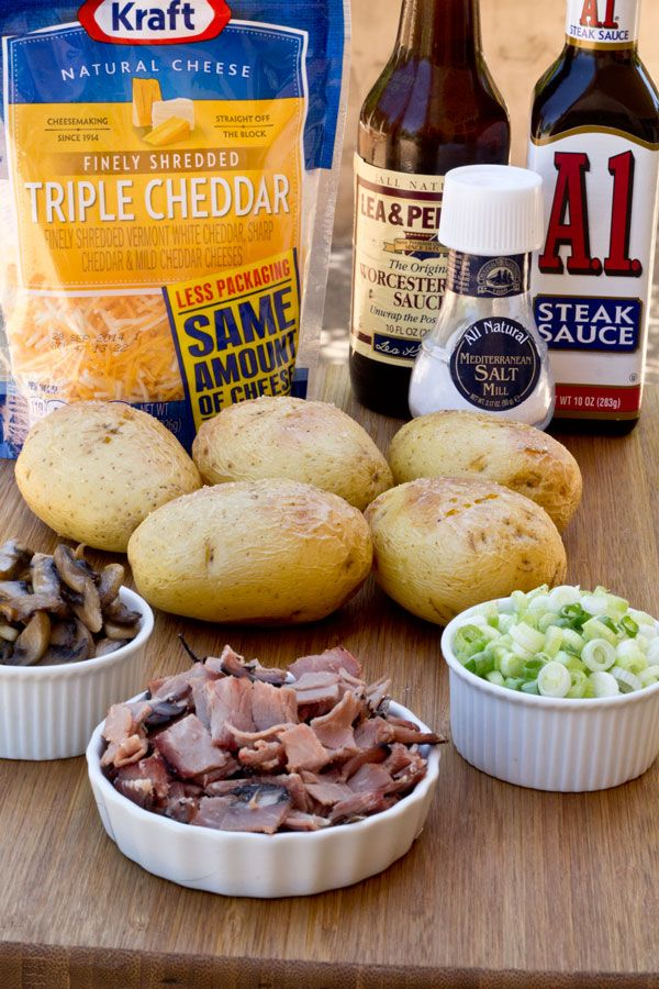 Potato Skins - Philly Cheese Steak Style - These are not your ordinary ...