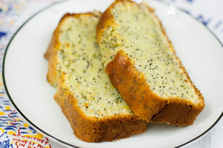 Lemon. Poppy Seed. Pound Cake.