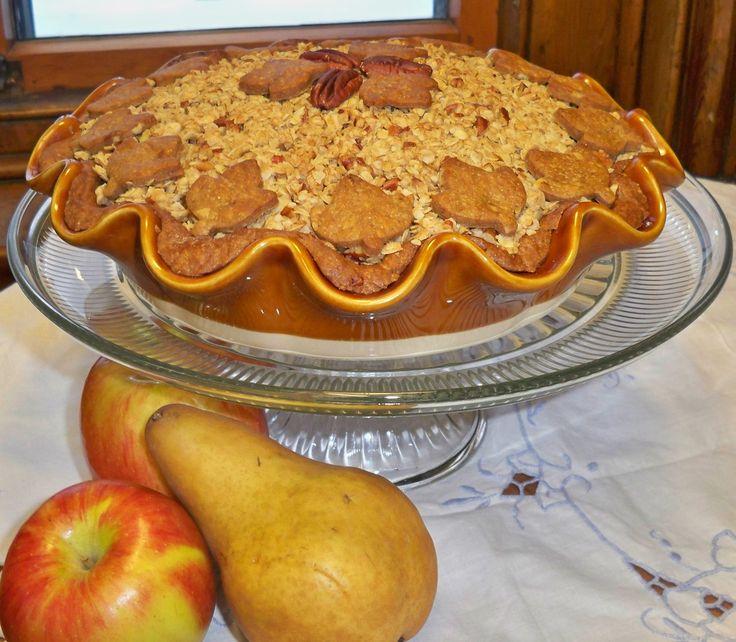 ... Delight - Apple Pear Pie in a Gingerbread Pecan Crust - Winning Recipe