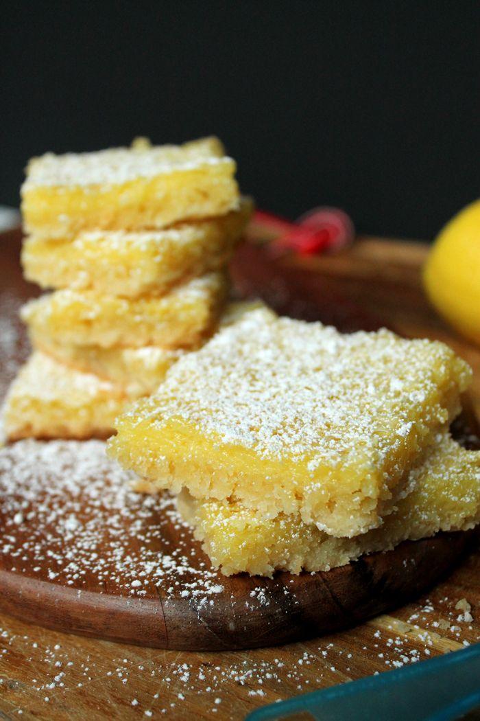 Classic Lemon Bars | Bars, Brownies + Bites | Pinterest