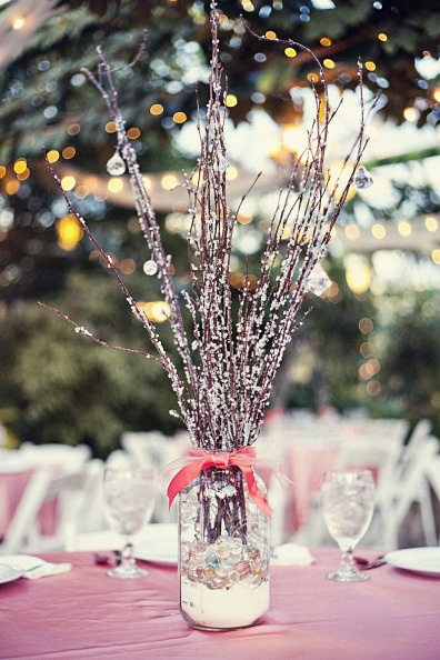 Pussy Willow Branches Centerpieces Traffic Club
