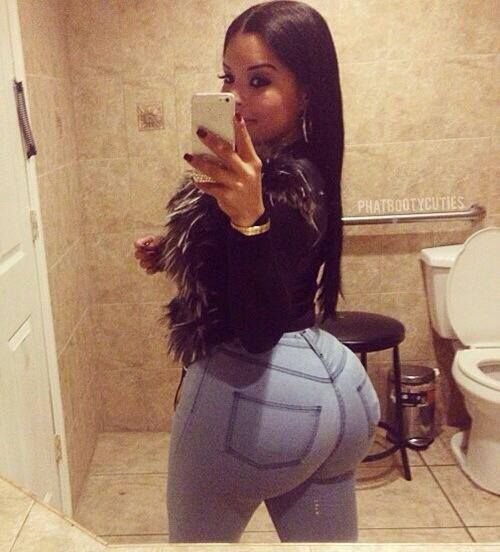 Black Honey with a super thick junk in trunk! #butt #booty ...