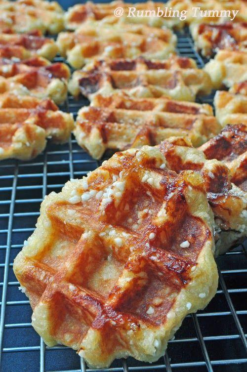 Liege Waffles | breads | Pinterest