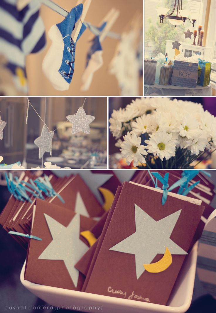 moon and stars baby shower party ideas pinterest