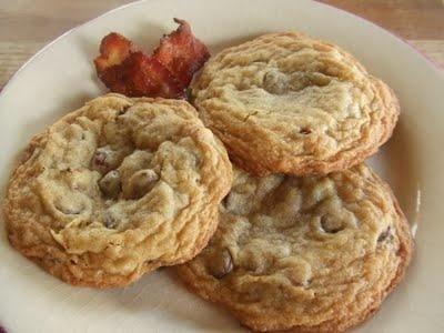 Maple Bacon Chocolate Chip Cookies | Mmm, dessert! | Pinterest