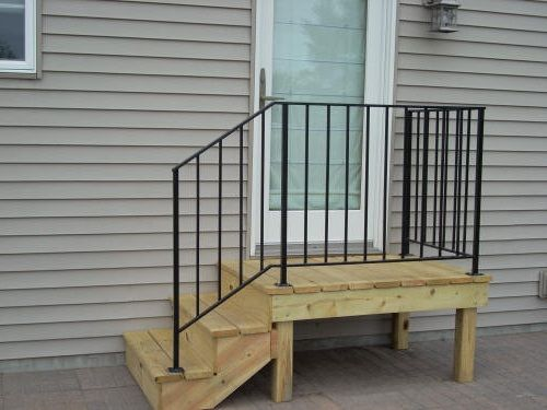 Mobile Stairs With Metal Handrail DIY Pinterest