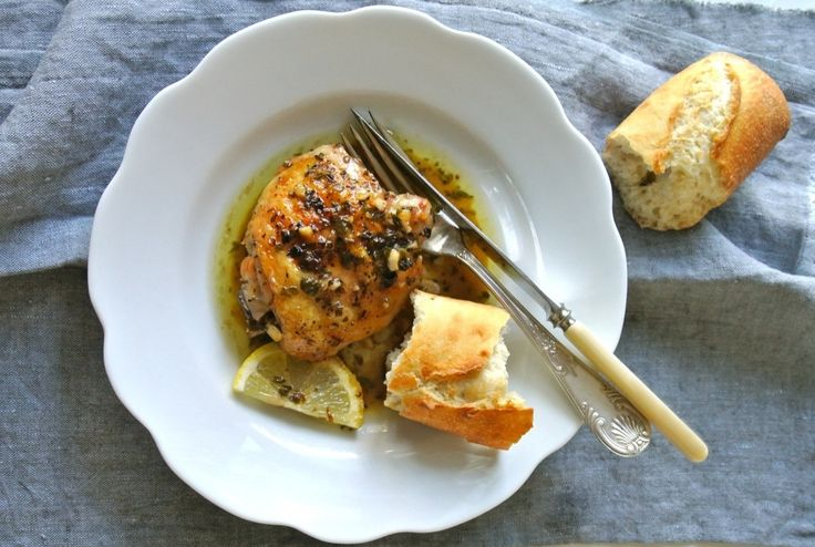 Lemon Chicken Thighs - Read More at Relish.com Any kind of lemon ...