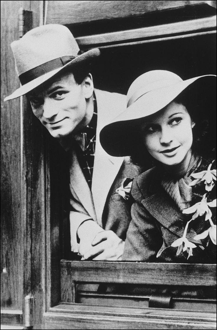 Vivien Leigh y Laurence Olivier