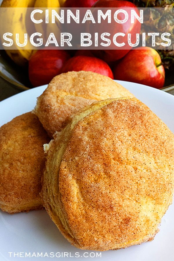 Cinnamon Sugar Biscuits--use low fat biscuit dough, brown sugar, and ...