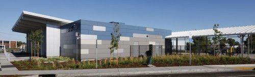 Greyhound bus terminal in Sacramento by Mogavero Notestine Associates