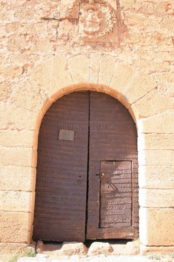 Puerta del Castillo de La Calahorra.Guadix.