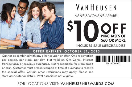 Izod coupon printable