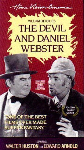 devil and daniel webster thesis