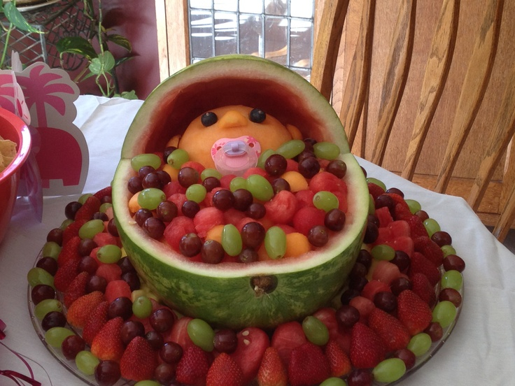 baby shower fruit bowl wilma 39 s pins pinterest