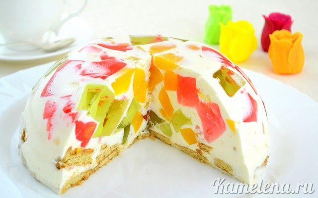 Торт «Битое стекло»