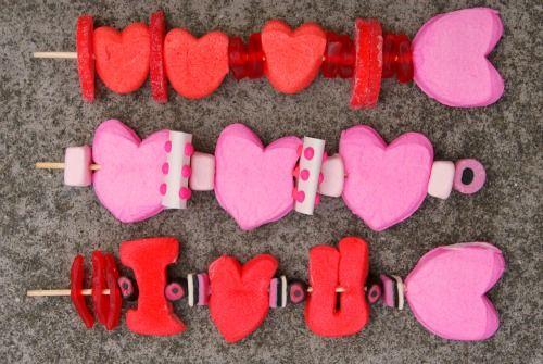 Happy Valentine Peep Kebabs | Peeper | Pinterest