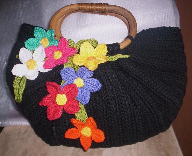 Crochet Bag Bottom : Inspiration for my fat bottom bag Crochet Pinterest