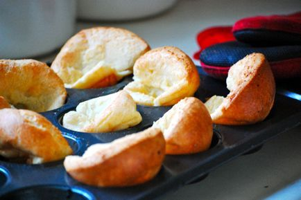 popovers with strawberry butter can you say pop on over! we need to ...