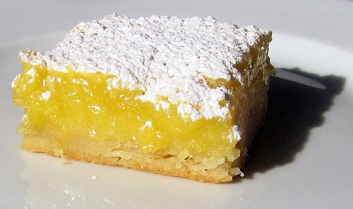 Lemon Bars Adapted from Ina Garten's The Barefoot Contessa Cookbook