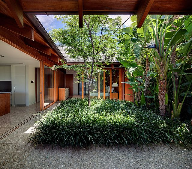 Courtyard garden pinterest for Landscaping a courtyard pictures