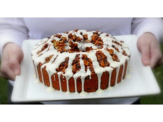 Sour Cream-Chocolate Chip Coffee Cake for National Coffee Cake Day ...