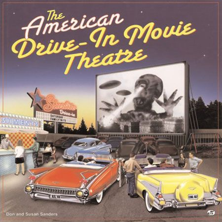 Movies at the drive-in (book cover shown)