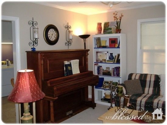Living Room With Piano Living Room Ideas Pinterest