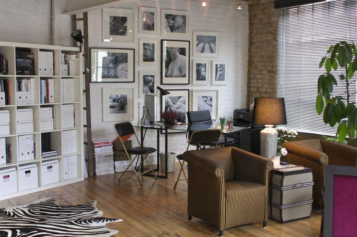 Decoracion Sala Peque?a Vintage ~ Fay and Max s Fabulous London Flat ? House Tour