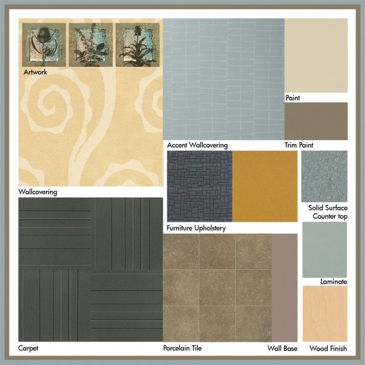 Beach paint colors interior schemes joy studio design for Medical office paint colors