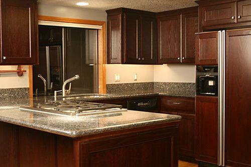 Restaining Kitchen Cabinets Dark Wood Restaining Kitchen Cabinets