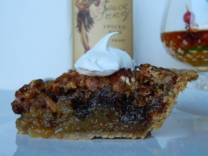 Rum Spiked Pecan Pie   Food & Drink   Pinterest