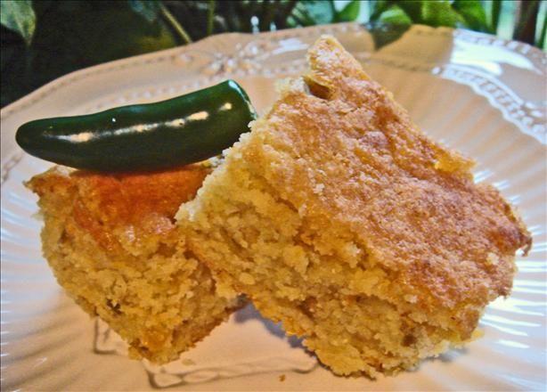 Palo Verde's Green Chile Cornbread | Recipe