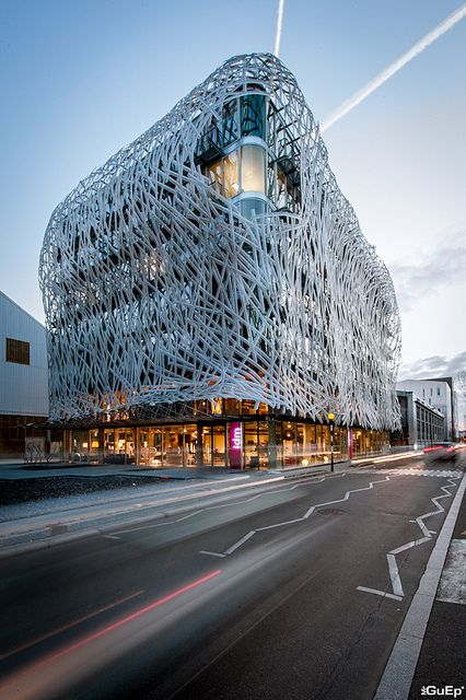 Immeuble manny nantes a u modern architecture for Architecture nantes
