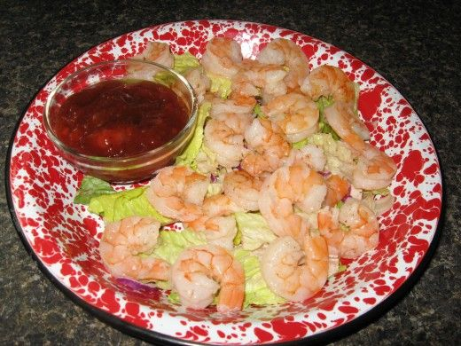 Shrimp Cocktail Recipe With Low-Sugar Cocktail Sauce Recipe ...