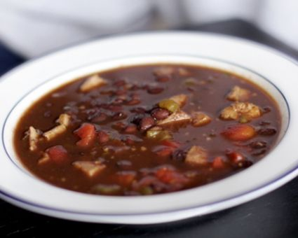 Slow-Cooked Spicy Black Bean Soup Recipe | The Daily Meal