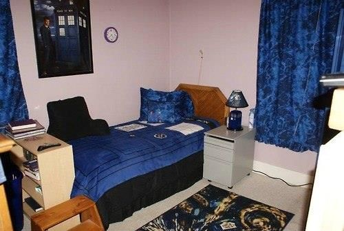 fantastic doctor who themed bedroom i doctor who