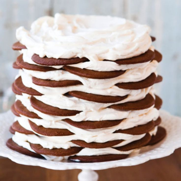 Gingerbread Icebox Cake with Mascarpone Mousse Recipe from ...