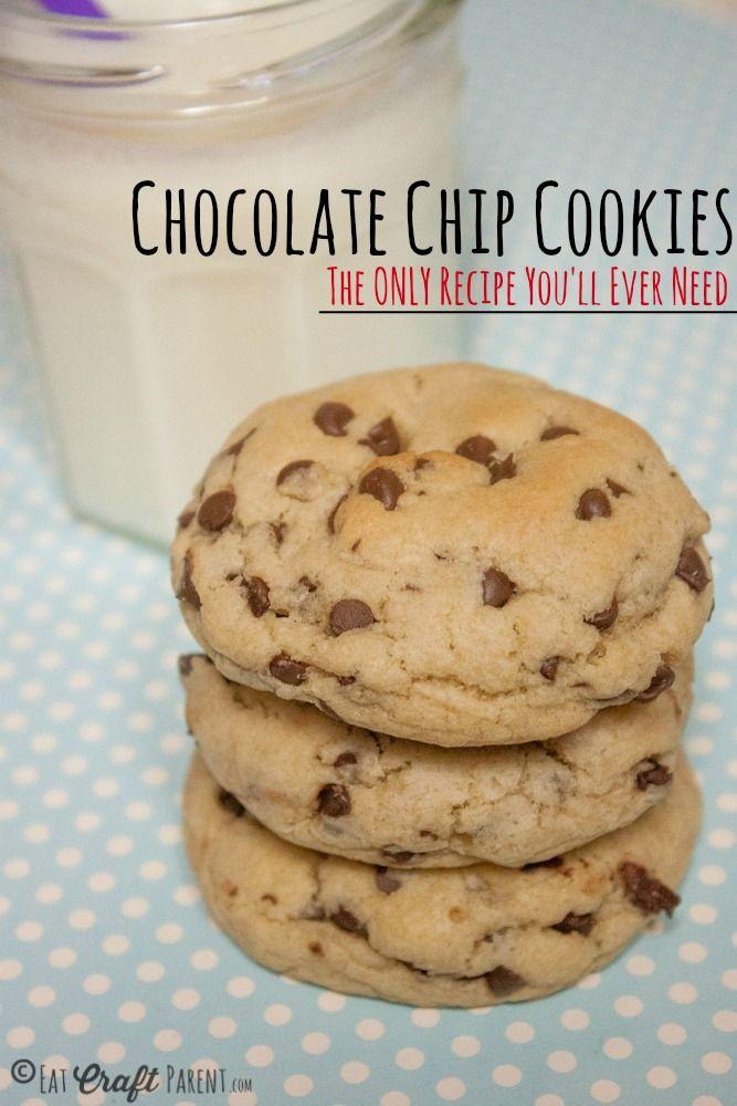 Our FAVORITE Chocolate Chip Cookie Recipe | {cookies, brownies, bars ...