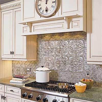 tin tile backsplash love it plastic tin tiles from home depot