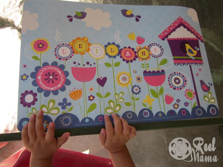 Personalized Kids Placemats Craft