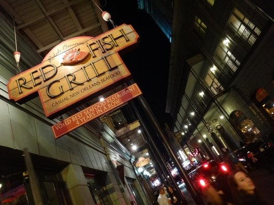 Pin by rebecca smith on oh the places i 39 ll go pinterest for Red fish grill new orleans la