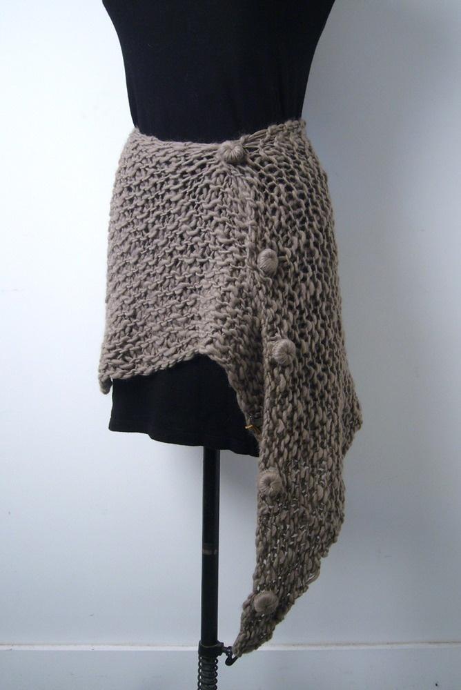 Open Knit Scarf Pattern : open knit skirt/scarf my style Pinterest