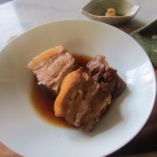 Japanese Braised Pork Belly ~ Buta no Kakuni