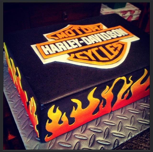 harley davidson cake harley cakes pinterest